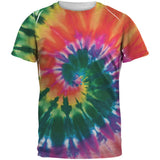 Spiral Tie Dye All Over Adult T-Shirt