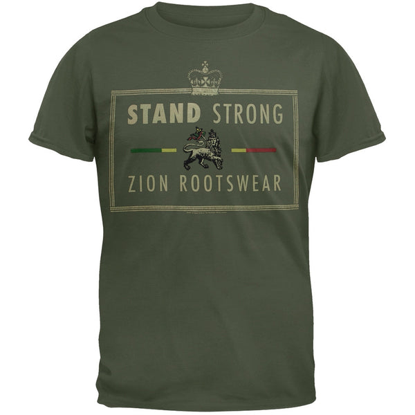 Rastafari - Stand Strong Adult T-Shirt