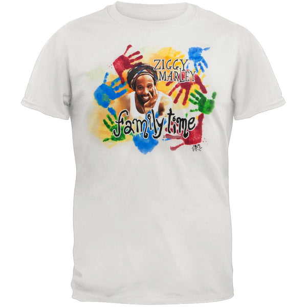 Ziggy Marley - Family Time Adult Soft T-Shirt