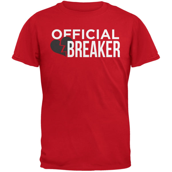 Official Heart Breaker Red Adult T-Shirt