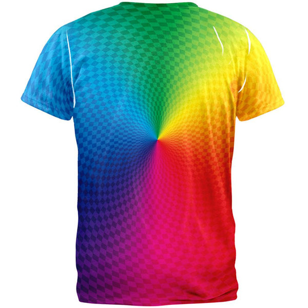 Rainbow Pride Gradient All Over T-Shirt