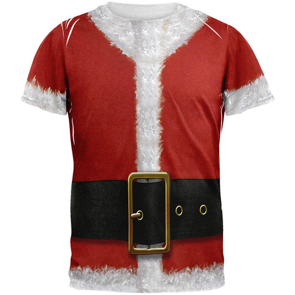 Santa Claus Costume All Over Adult T-Shirt