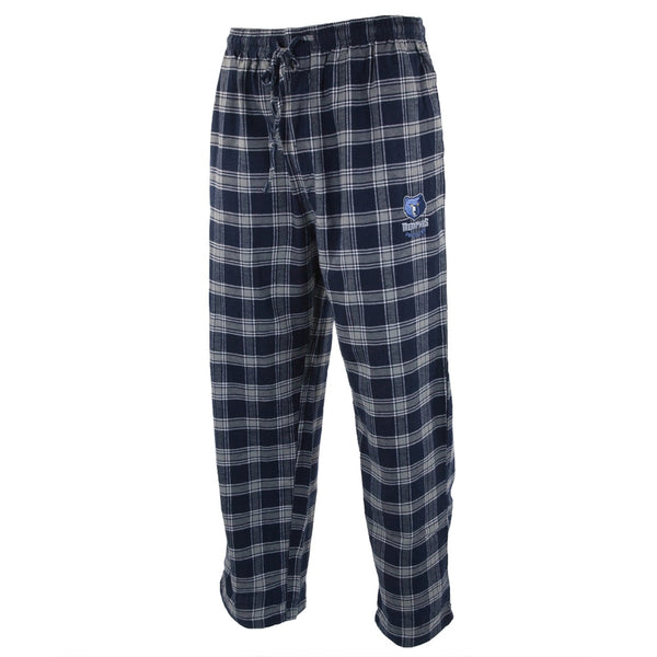 Memphis Grizzlies - Logo Plaid Lounge Pants