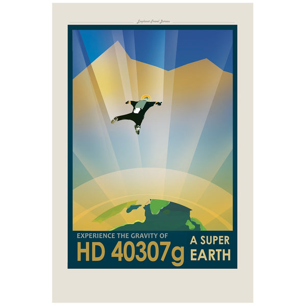 Exoplanet HD 40307g 20 x 30 Rolled Canvas Wall Art