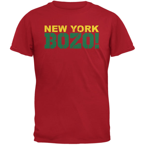 New York Bozo Red Adult T-Shirt