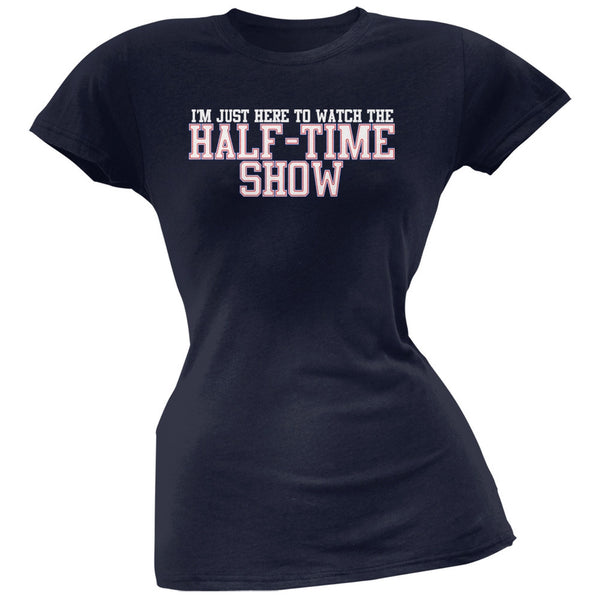 Big Game Half Time Show New England Blue Soft Juniors T-Shirt