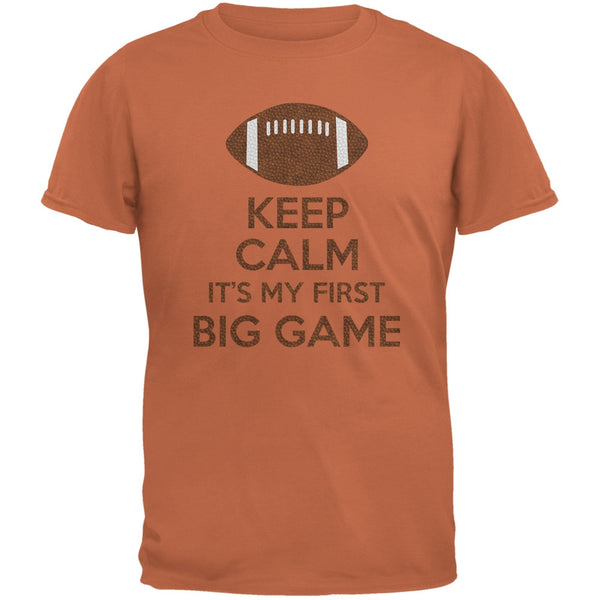 First Big Game Football Texas Orange Adult T-Shirt