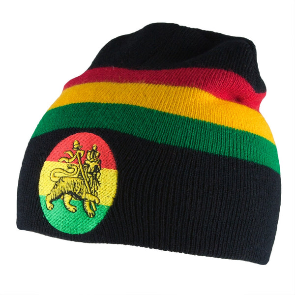 Rastafari - Rasta Lion Of Judah Knit Beanie