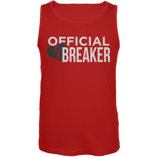 Official Heart Breaker Red Mens Tank Top