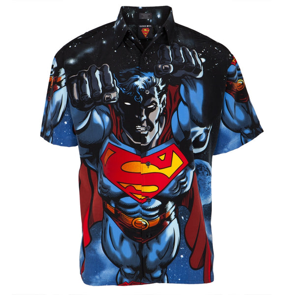 Superman - All Over Club Shirt