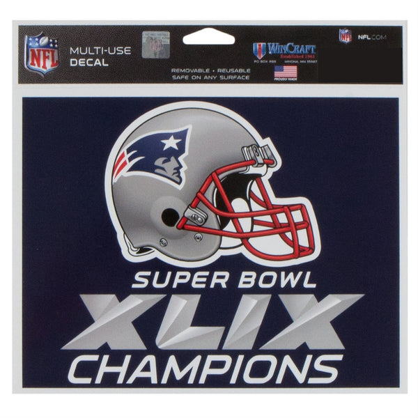 new-england-patriots-super-bowl-49-champions-team-logo-metal-spinner-keychain