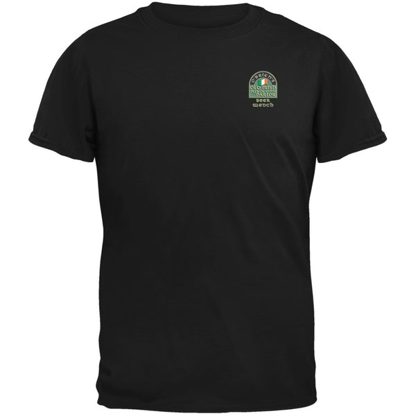 St. Patricks Day - O'Brien's Irish Pub Drinkers Beer Wench Black T-Shirt