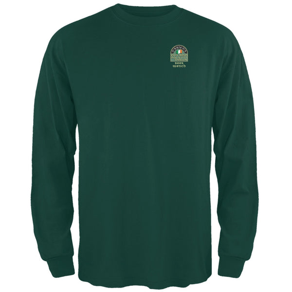 St. Patricks Day -O'Brien's Irish Drinkers Beer Wench Forest Long Sleeve T-Shirt