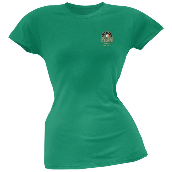 St. Patricks Day - O'Brien's Irish Pub Drinkers Beer Wench Kelly Juniors T-Shirt
