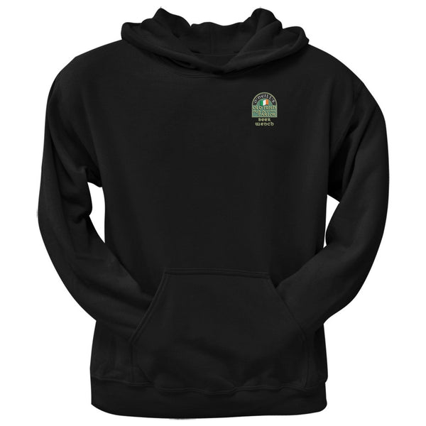 St. Patricks Day - O'Neill's Irish Pub Drinkers Beer Wench Black Adult Hoodie