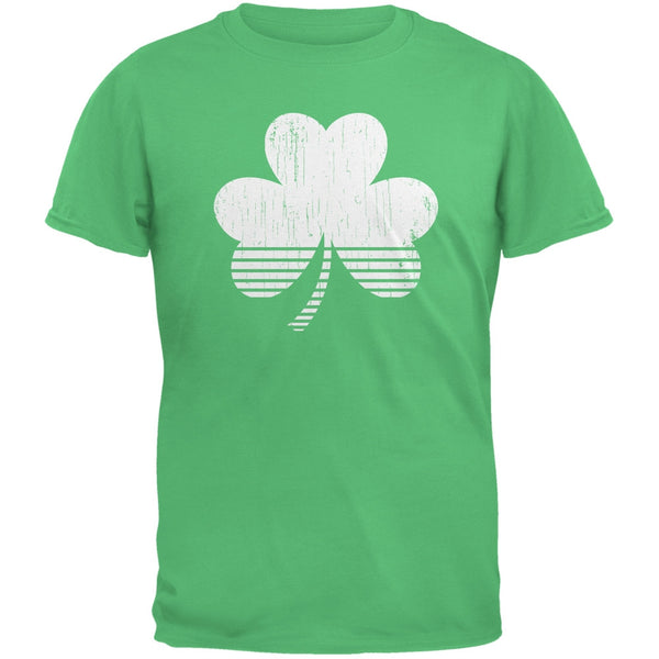 Sporty Shamrock Irish Green Adult T-Shirt