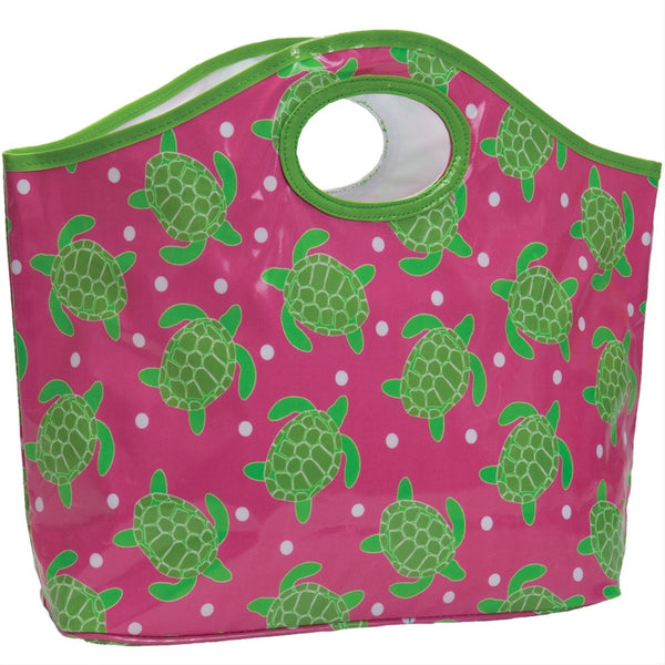 Turtles All-Over Cutout Tote Bag