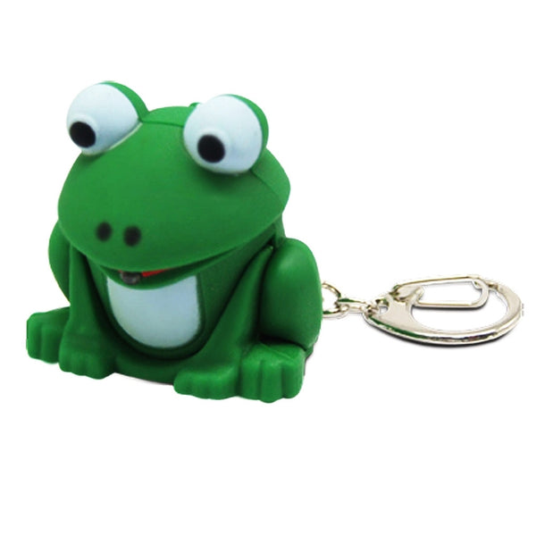 LED Froggy Light Key Tag With Sounds