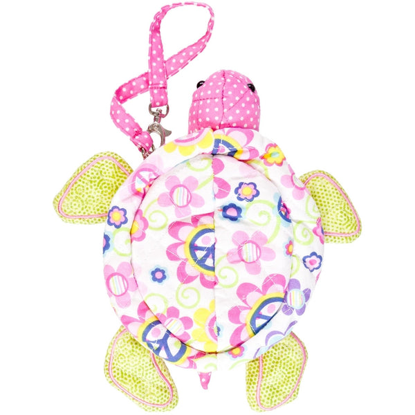 Shelly the Turtle Soft Plush Wristlet Bag