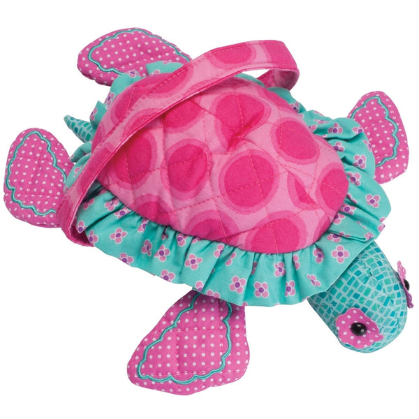 Hot Dot the Turtle Quilted Purse