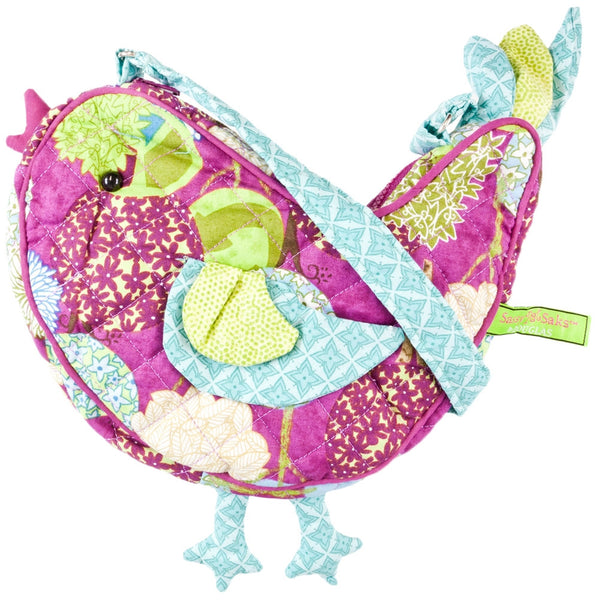 Peaceful Earth the Bird Soft Plush Shoulder Bag