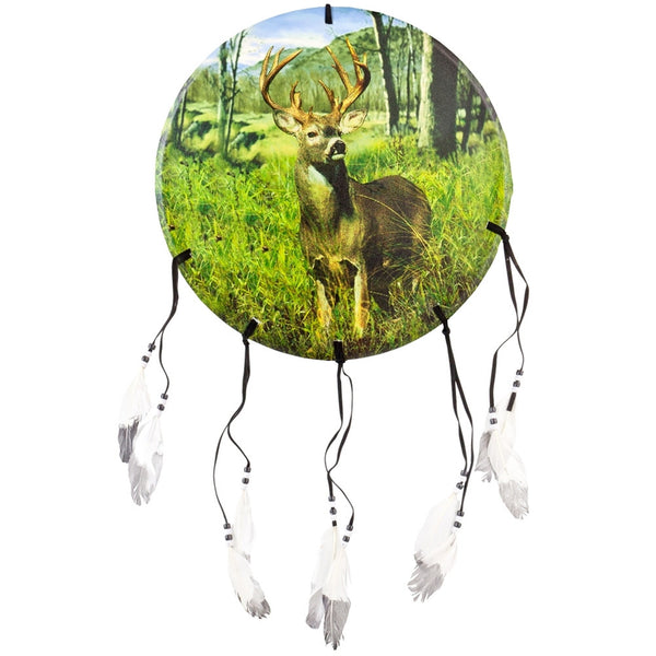 Deer Buck in Forest Dream Catcher