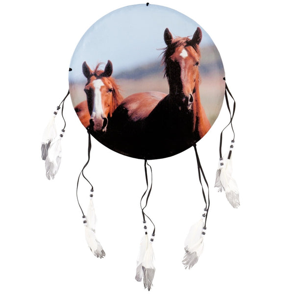 Horses Front Profile Dream Catcher