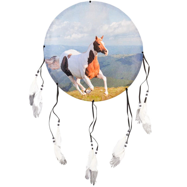 Paint Horse Galloping Dream Catcher
