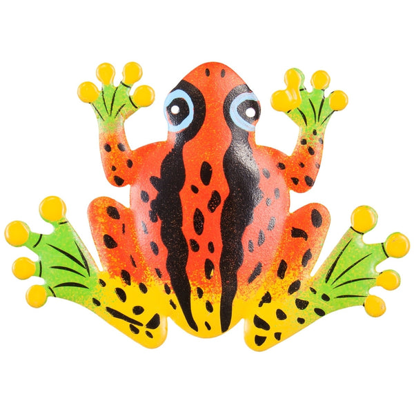 Red Frog Body Bobble Metal Magnet