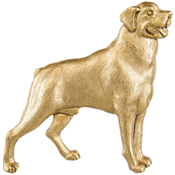 Labrador Retriever Standing Pewter Pin