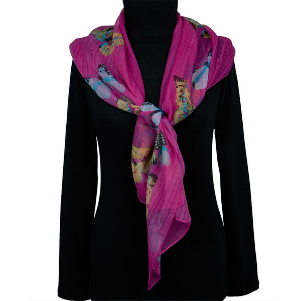 Butterfly Bodies All-Over Women's Scarf