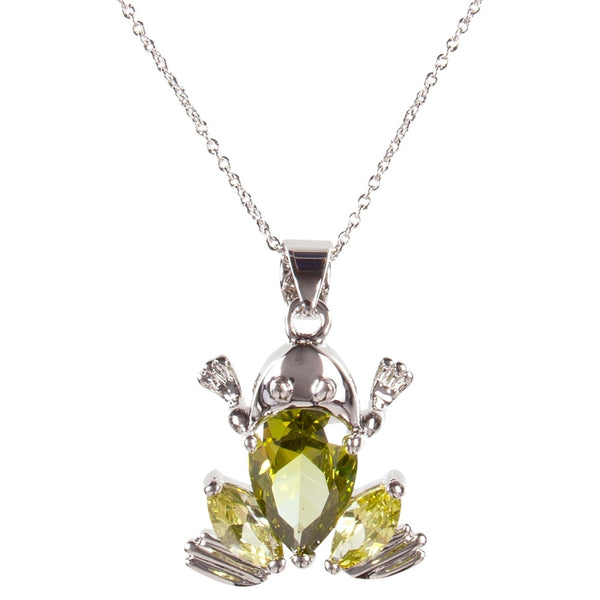 Frog Gem Body Necklace
