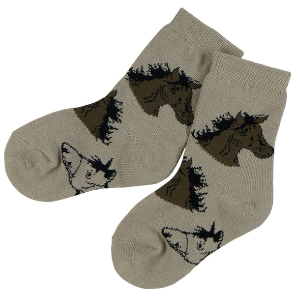 Horse Heads Juvy Socks