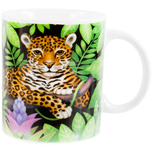 Leopard In Jungle Coffee Mug