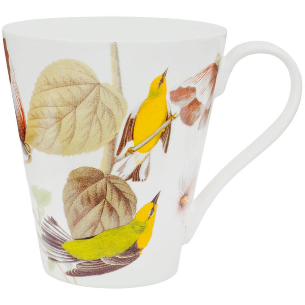 Blue Winged Warblers In Branches Coffee Mug