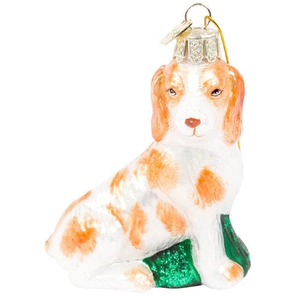 Noble Gems Beagle Glass Ornaments