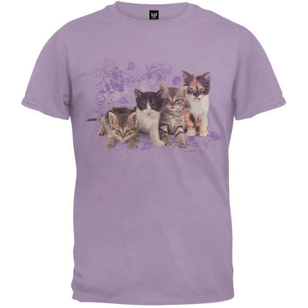 Kitten Row Lavender T-Shirt