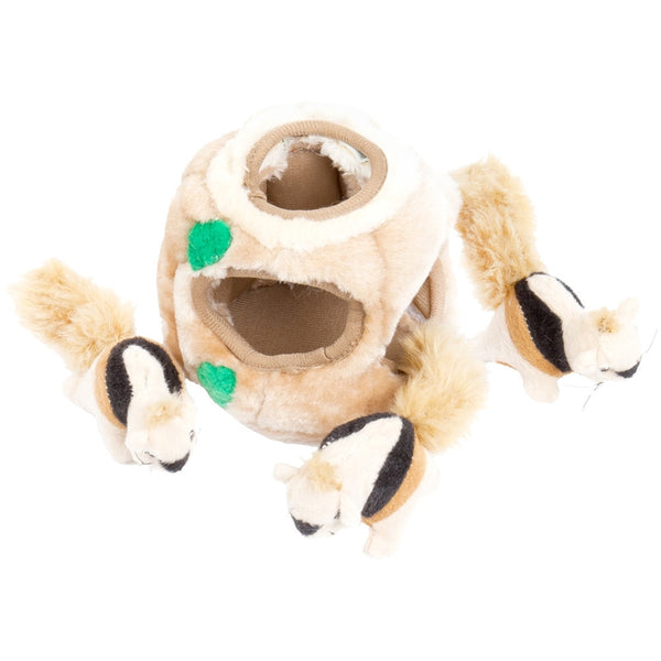 Hide-A-Squirrel Kyjen Dog Toy Puzzle Plush Puppy Toy