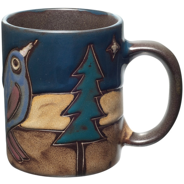 Birds Perched Dinner Mug