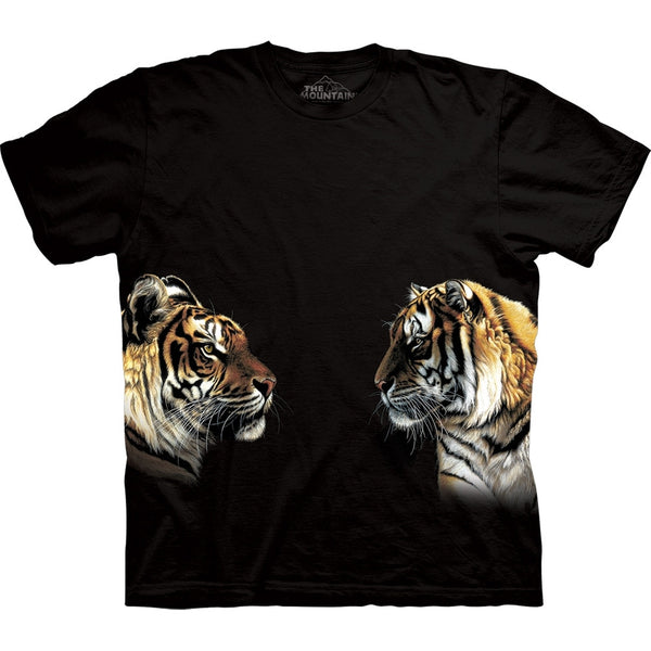 Tigers Facing Off T-Shirt