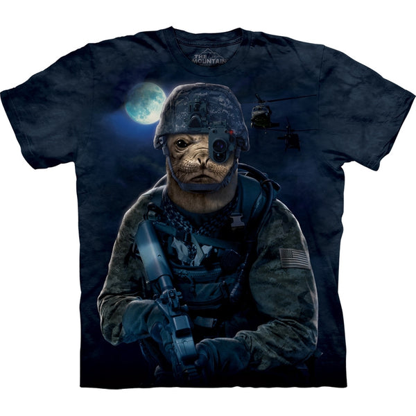 Seal in Combat Gear T-Shirt
