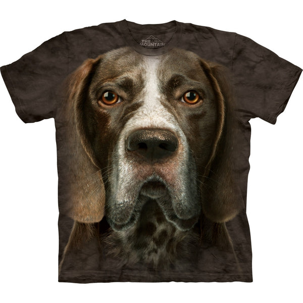 German Short-Haired Pointer Head T-Shirt