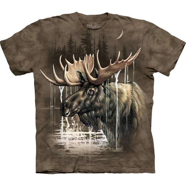 Moose in River T-Shirt