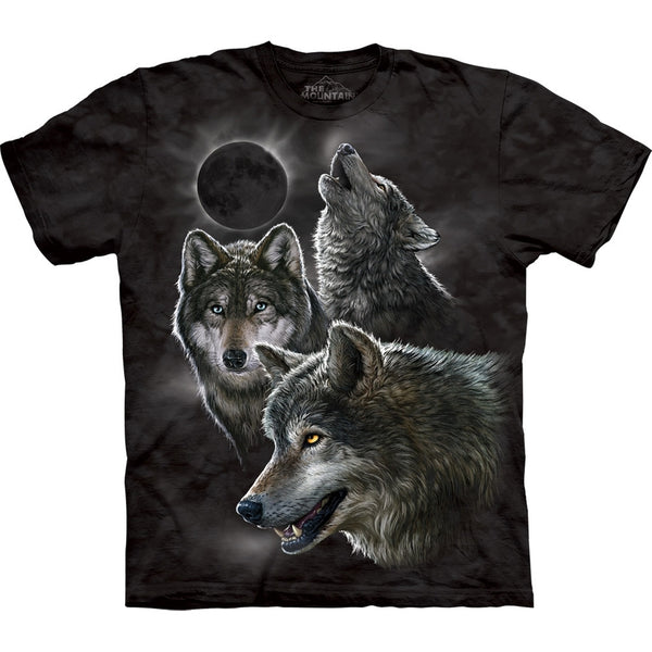 Wolves in Moon Eclipse T-Shirt