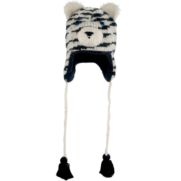 Sal the Siberian Tiger Peruvian Knit Hat