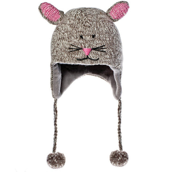 Mimi The Mouse Peruvian Knit Hat