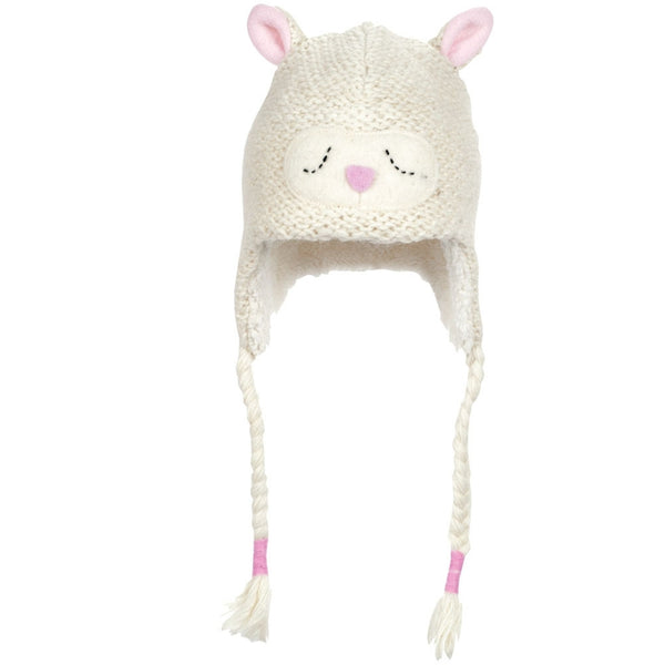 Lally the Lamb Kids Peruvian Knit Hat