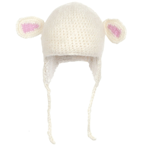 Lamb Kids Peruvian Crochet Hat