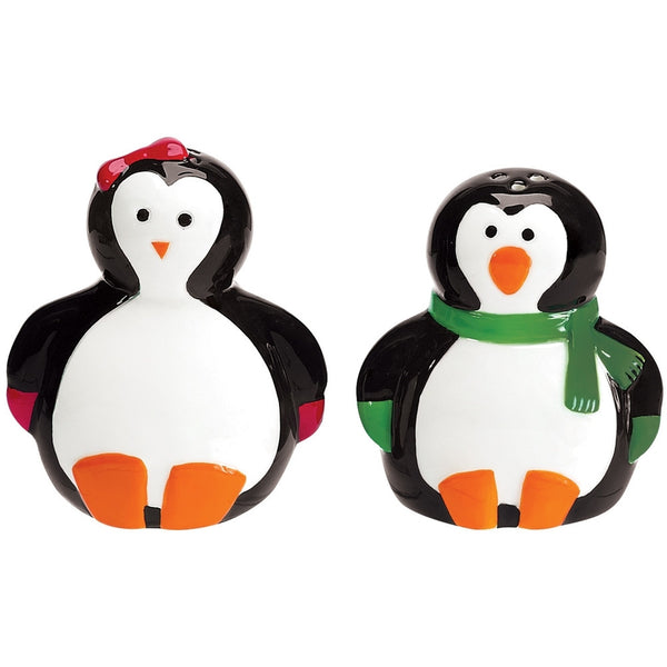Penguin Party Ceramic Salt & Pepper Shaker Set