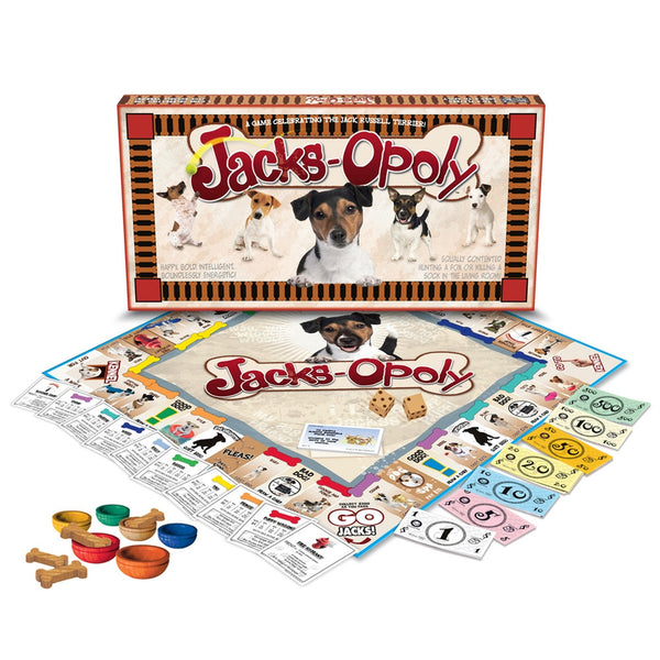 Jack Russell-opoly Board Game